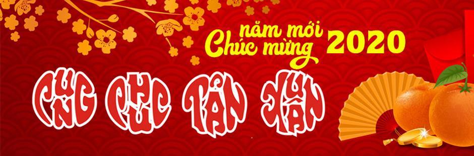 Chúc mừng năm mới Xuân Canh Tý