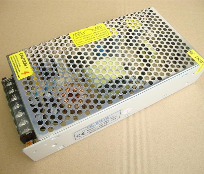 Nguồn tổ ong tổng 12V 10A (DC) đa năng phù hợp với camera và đèn led quảng cáo