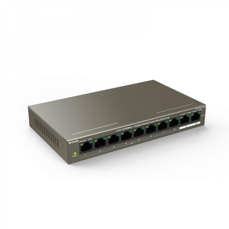 Switch Tenda TEF1110P 8-Port 10/100Mbps PoE + 2 Gigabit SFP