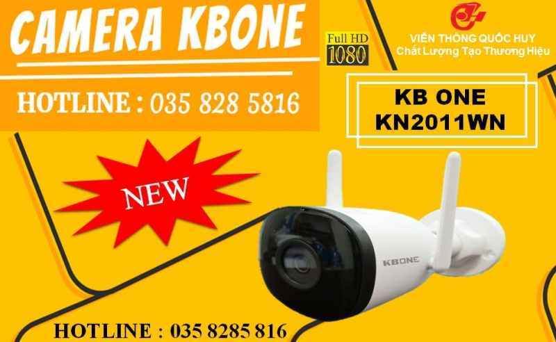 Camera IP Wifi KBONE KN-2011WN